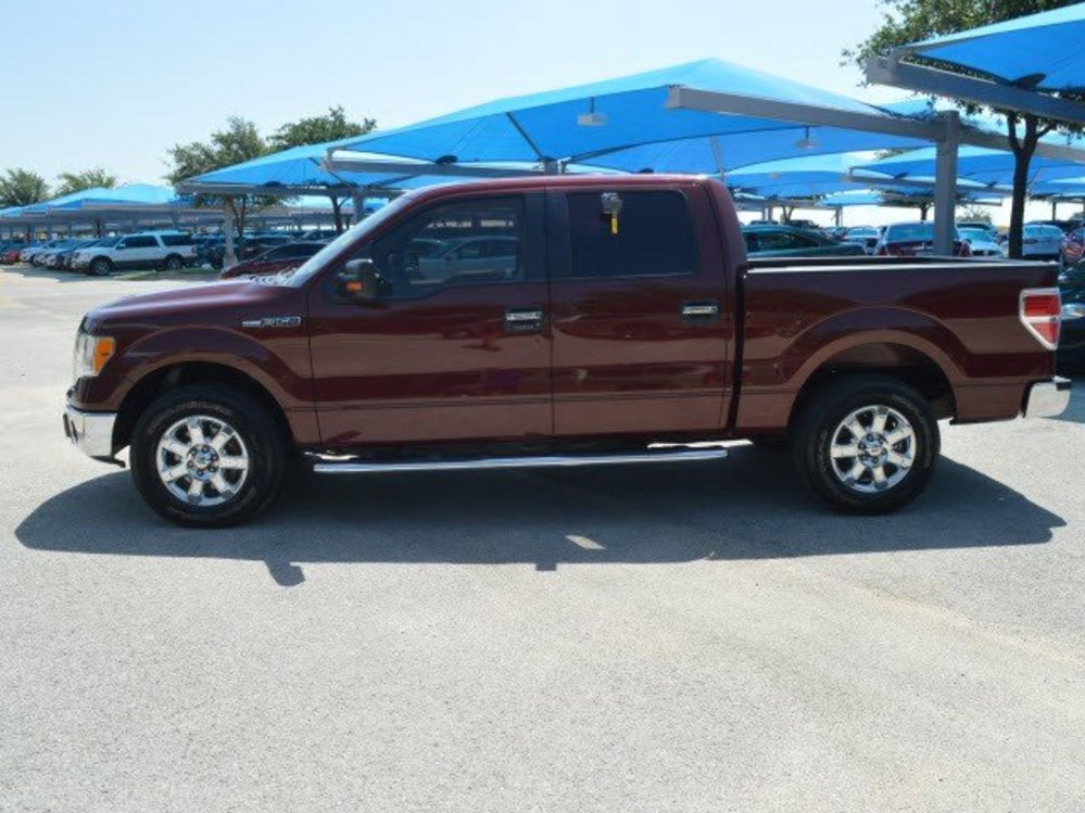 Tdy Sales 22 592 Maroon 2010 Ford F 150 Xlt Leather Crew Cab Rwd