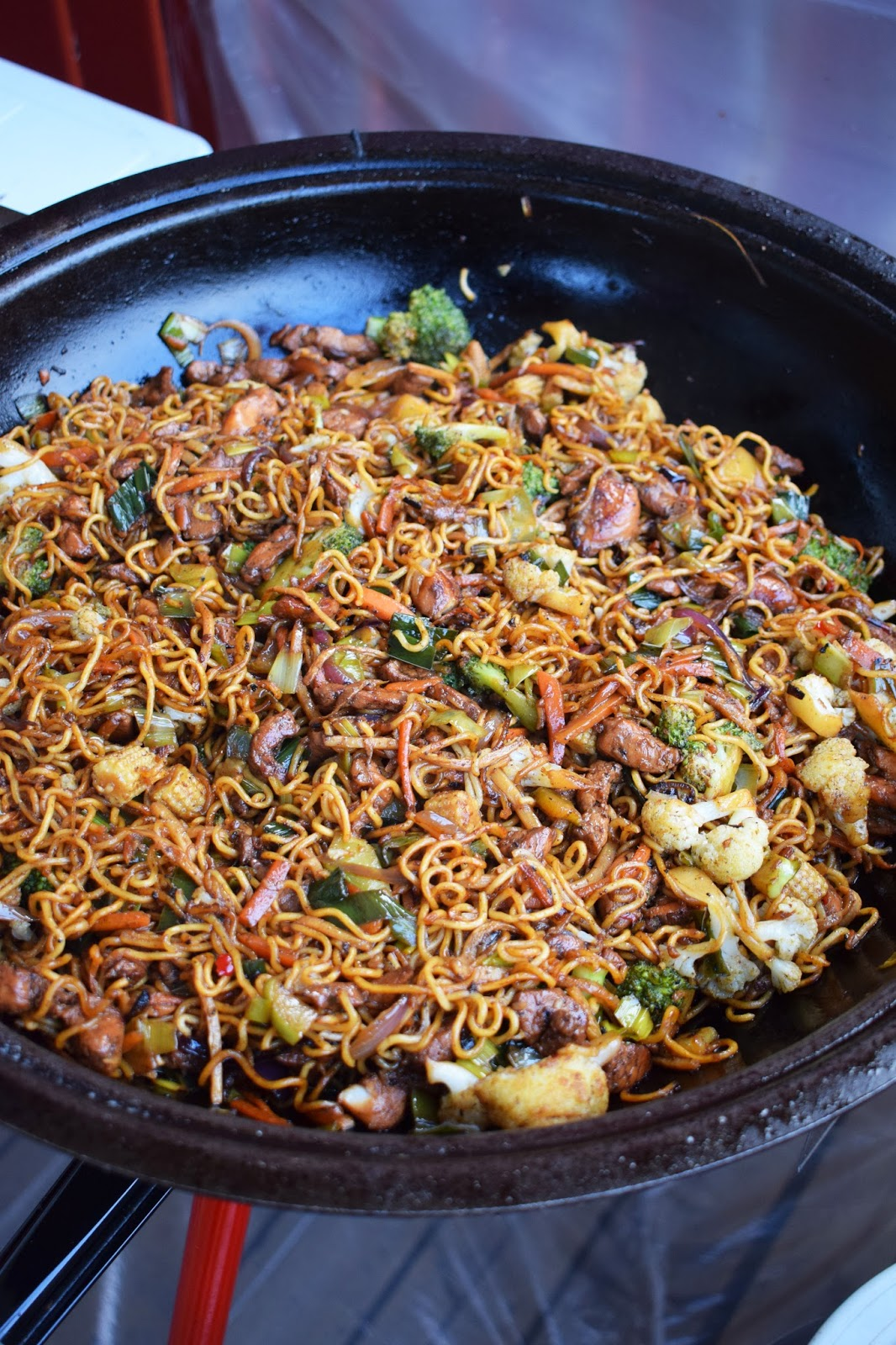 fläskfile wok nudlar