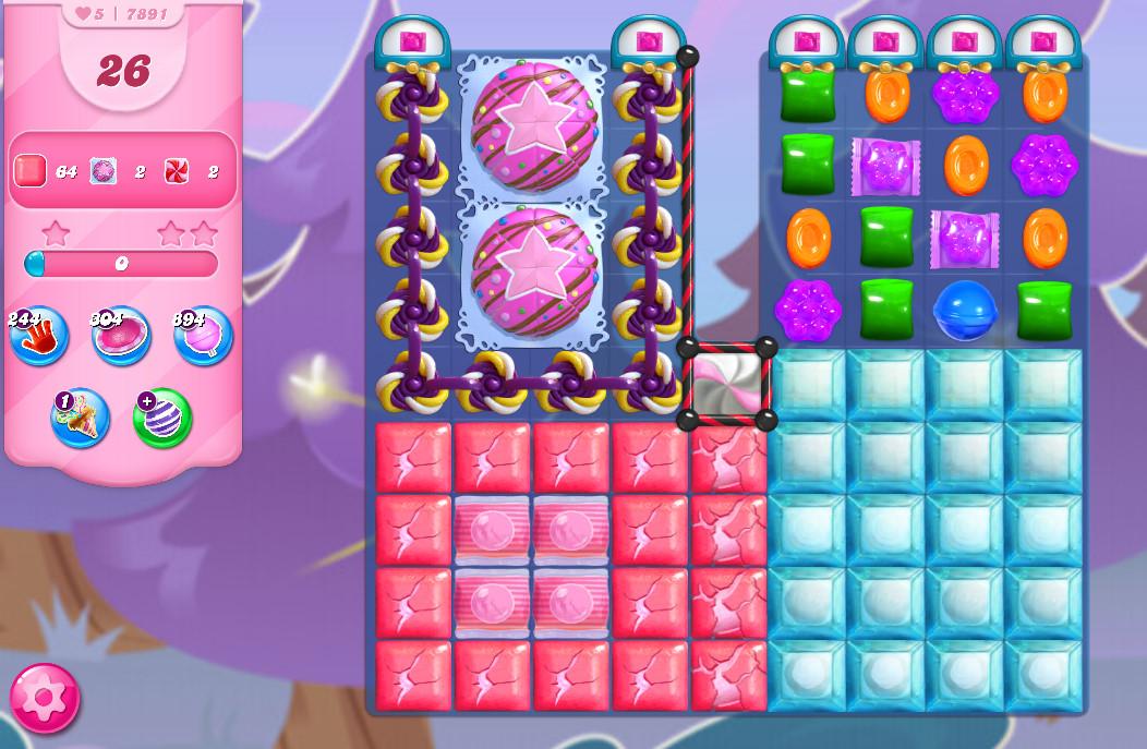 Candy Crush Saga level 7891