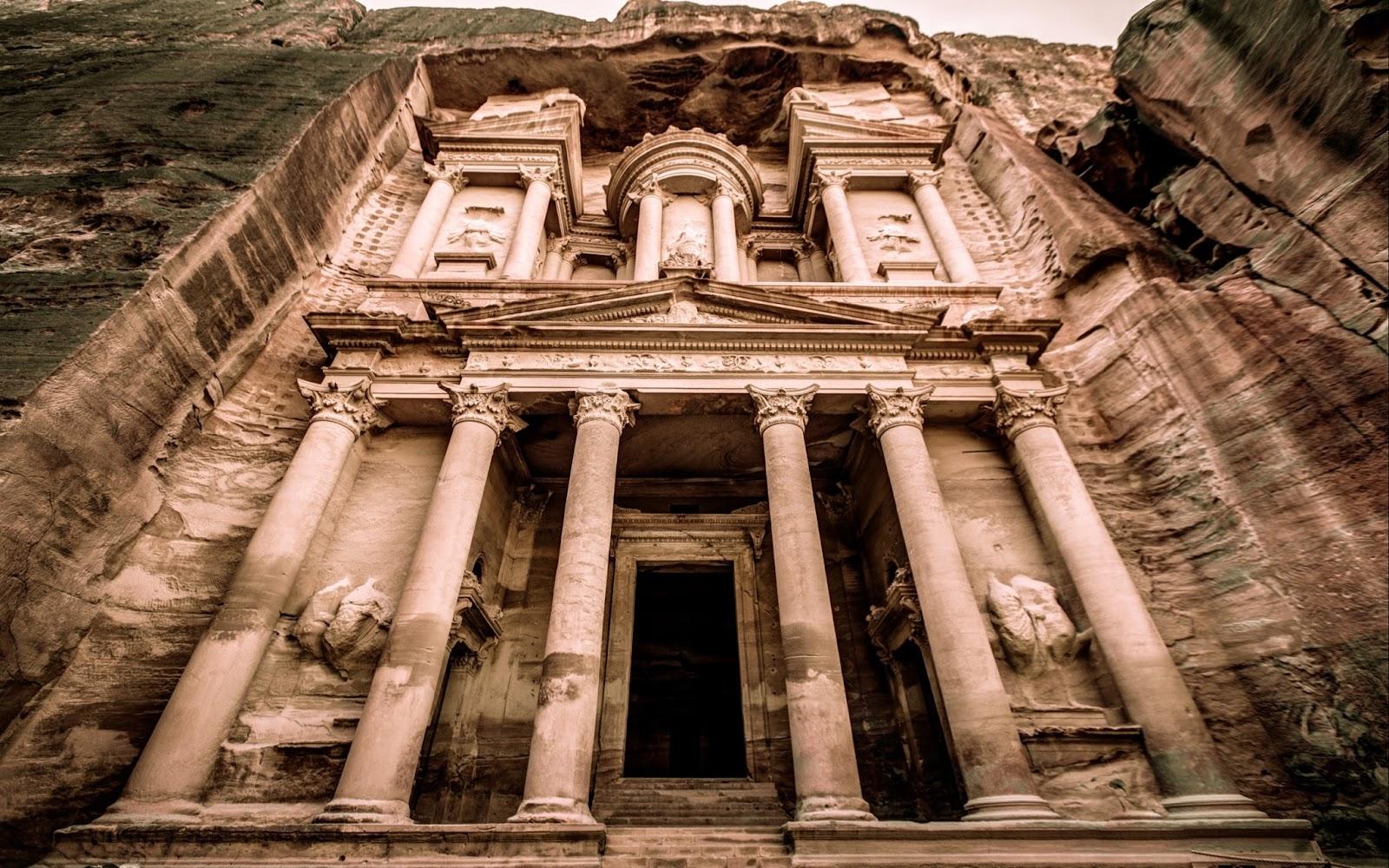 Petra, Jordan HD Background