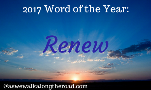 Word of the year- renew