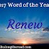 Renew: 2017 Word of the Year
