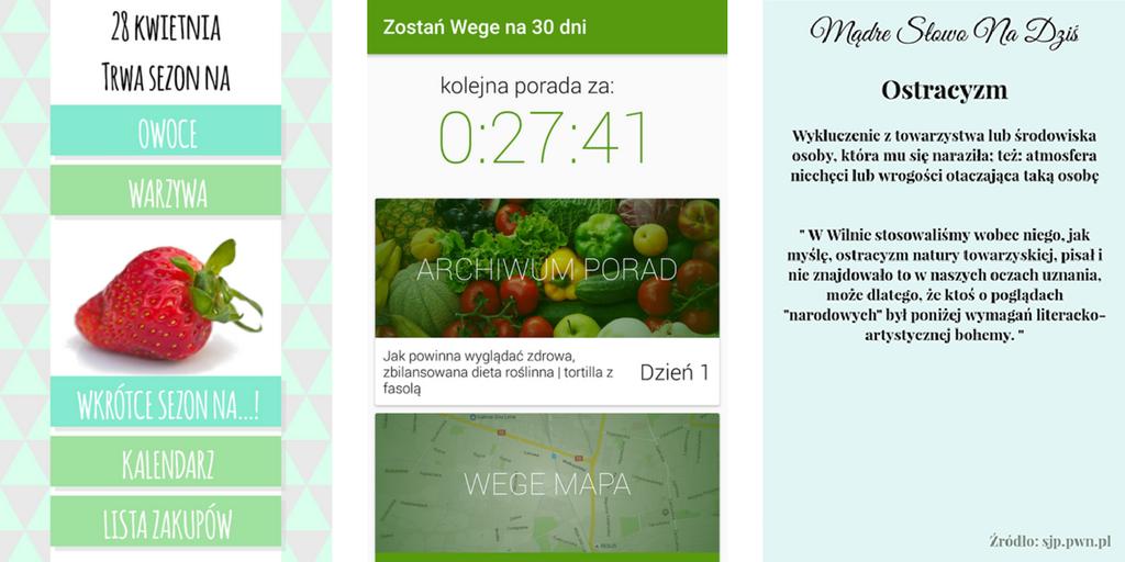 3 aplikacje na Android, które warto znać