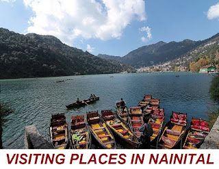 VISITING PLACES IN NAINITAL