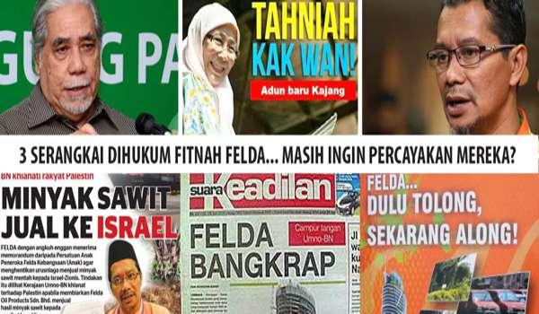 Fitnah FELDA Bankrap: Wan Azizah Bersama 3 Yang Lain Di Perintah Bayar Ganti Rugi RM2 Juta