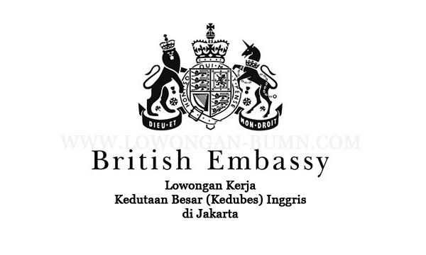 Lowongan Kerja Kedutaan Besar (Kedubes) Inggris di Jakarta