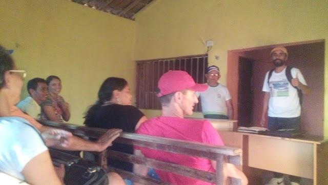 Potengi: Federação das Entidades Comunitárias participa de reunião na comunidade de Sassaré