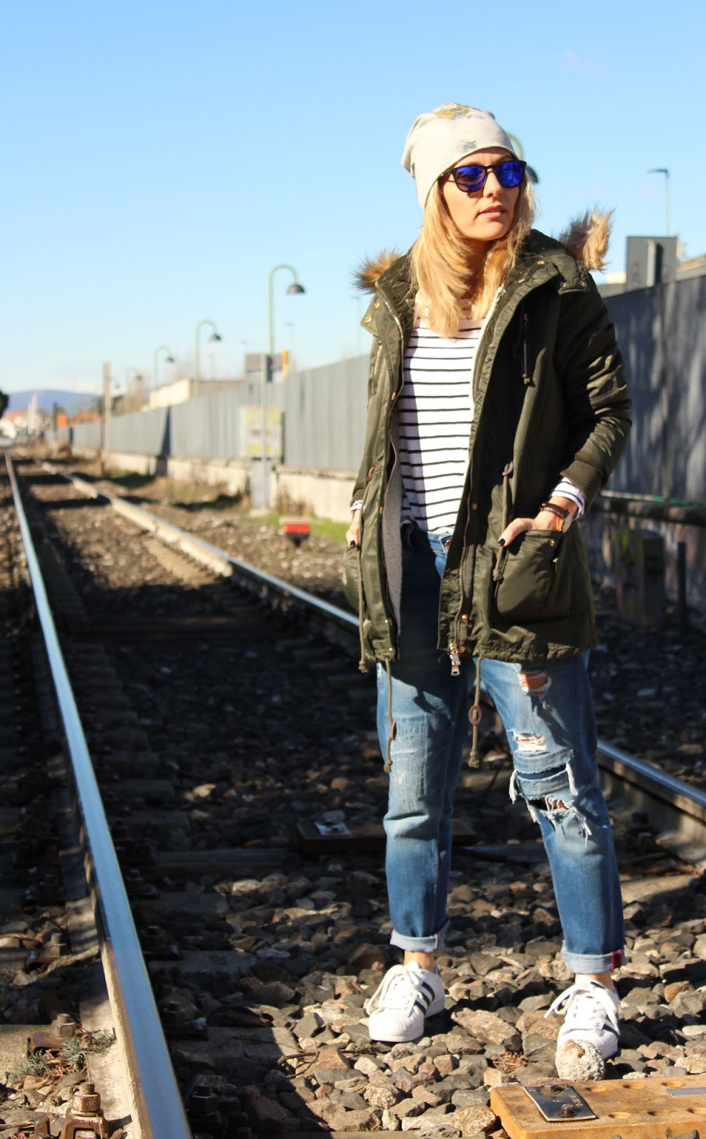 Eniwhere Fashion - Parka Sammydress