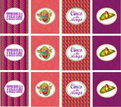 Fiesta Mexicana: Kit para Imprimir Gratis.