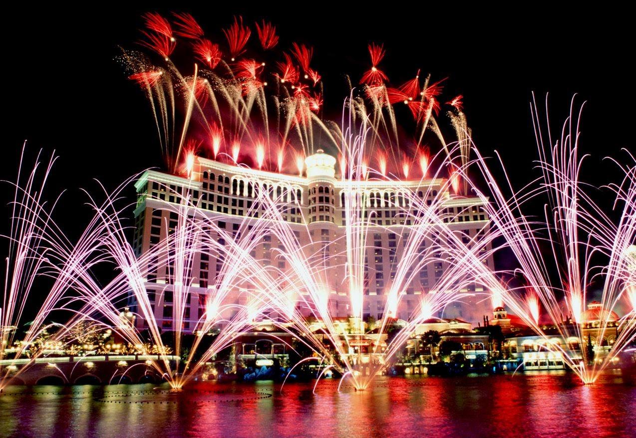 A Las Vegas l'ultimo dell'anno si celebra in gran stile