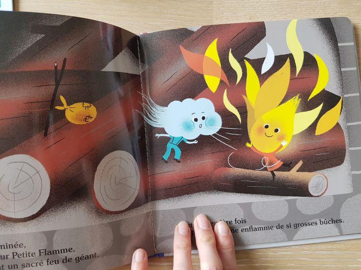 livre petite flamme cherche un abri bayard jeunesse