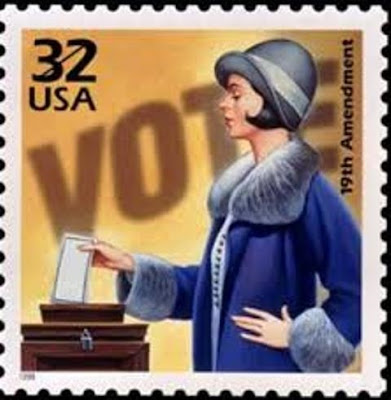 Climbing My Family Tree: Stamp Commemorating the 19th Amendment