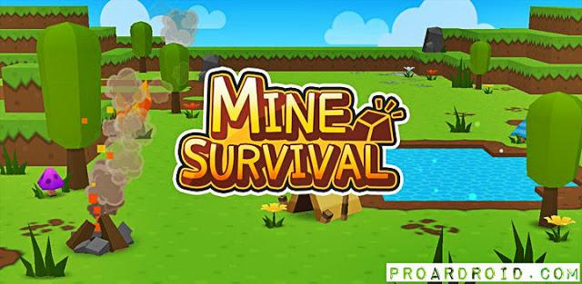 لعبة Mine Survival v2.1.4 Apk مهكرة كاملة للأندرويد logo