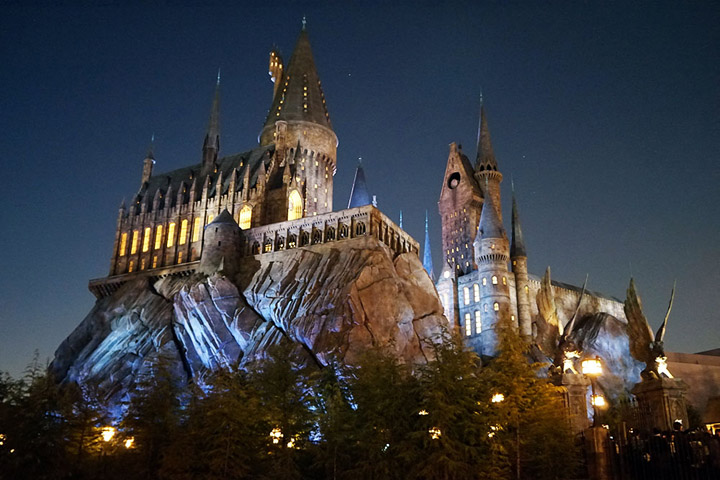 Hogwarts Castle - Universal Studi Japan