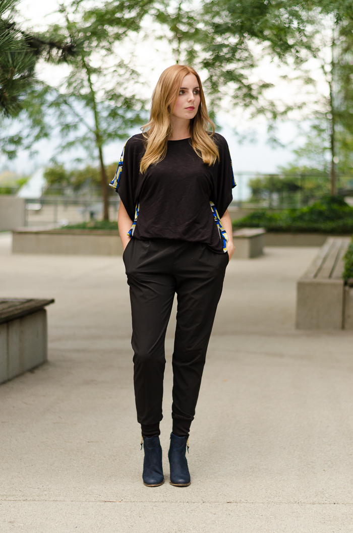 How to Wear Harem-style pants