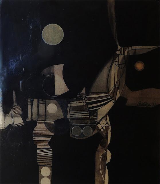 Antonio Andivero dibujo a tinta figurativo