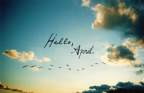 Stt tháng 4! Stt xin chào tháng 4