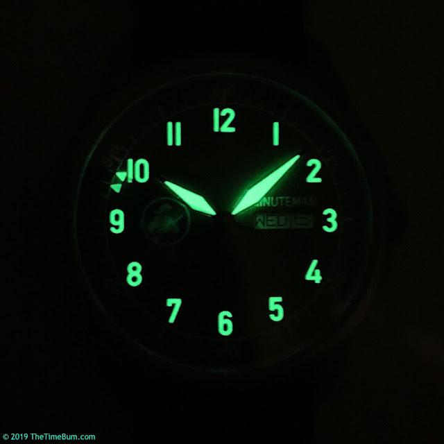 Minuteman A11 lume