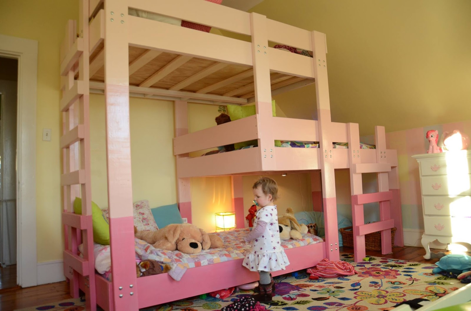 Barning Triple Decker Bunk Bed