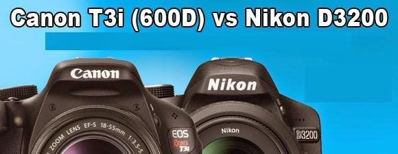 Canon-rebel-T3i-VS-Nikon-D3200-Which-DSLR-camera-is-better?