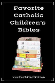 Favorite Catholic Children's Bibles