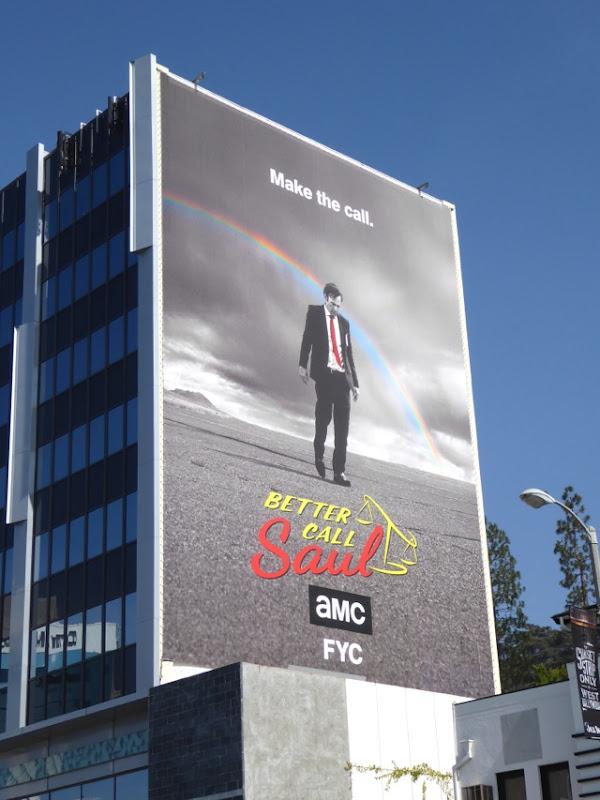 Giant Better Call Saul Emmy 2016 FYC billboard