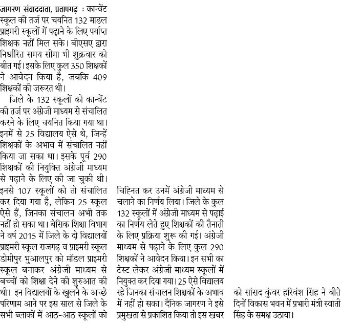 Basic Shiksha Latest News, Basic Shiksha Current News, nahi mile paryapt Shikshak