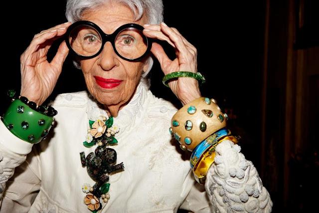 Iris Apfel - Cool Chic Style Fashion