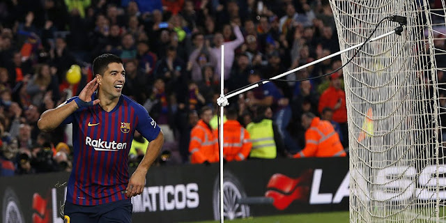 Barcelona Cari Striker Baru, Luis Suarez Woles