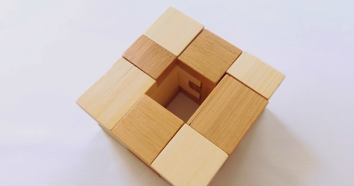 Kappa Funzzle Bamboo Wooden Puzzle