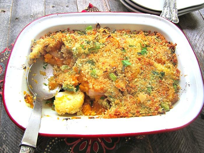 Stacey Snacks: Roasted Butternut Squash & Cauliflower Gratin