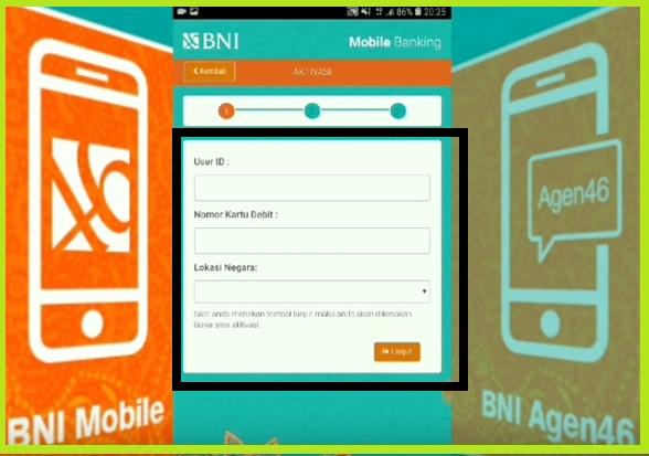 Cara Aktivasi BNI Mobile Banking Via Hp Android 3
