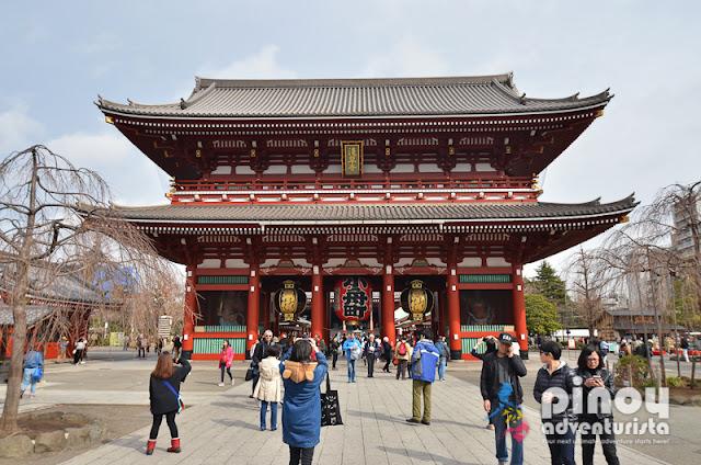 Must-see temples in Tokyo Japan