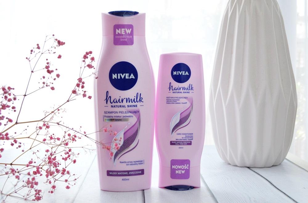 Nivea szampon i odżywka