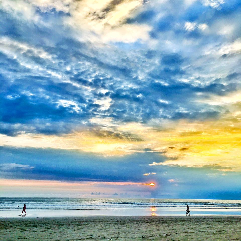 Crystal Phuong- #TravelwithCrystal- Bali, Seminyak Beach during sunset