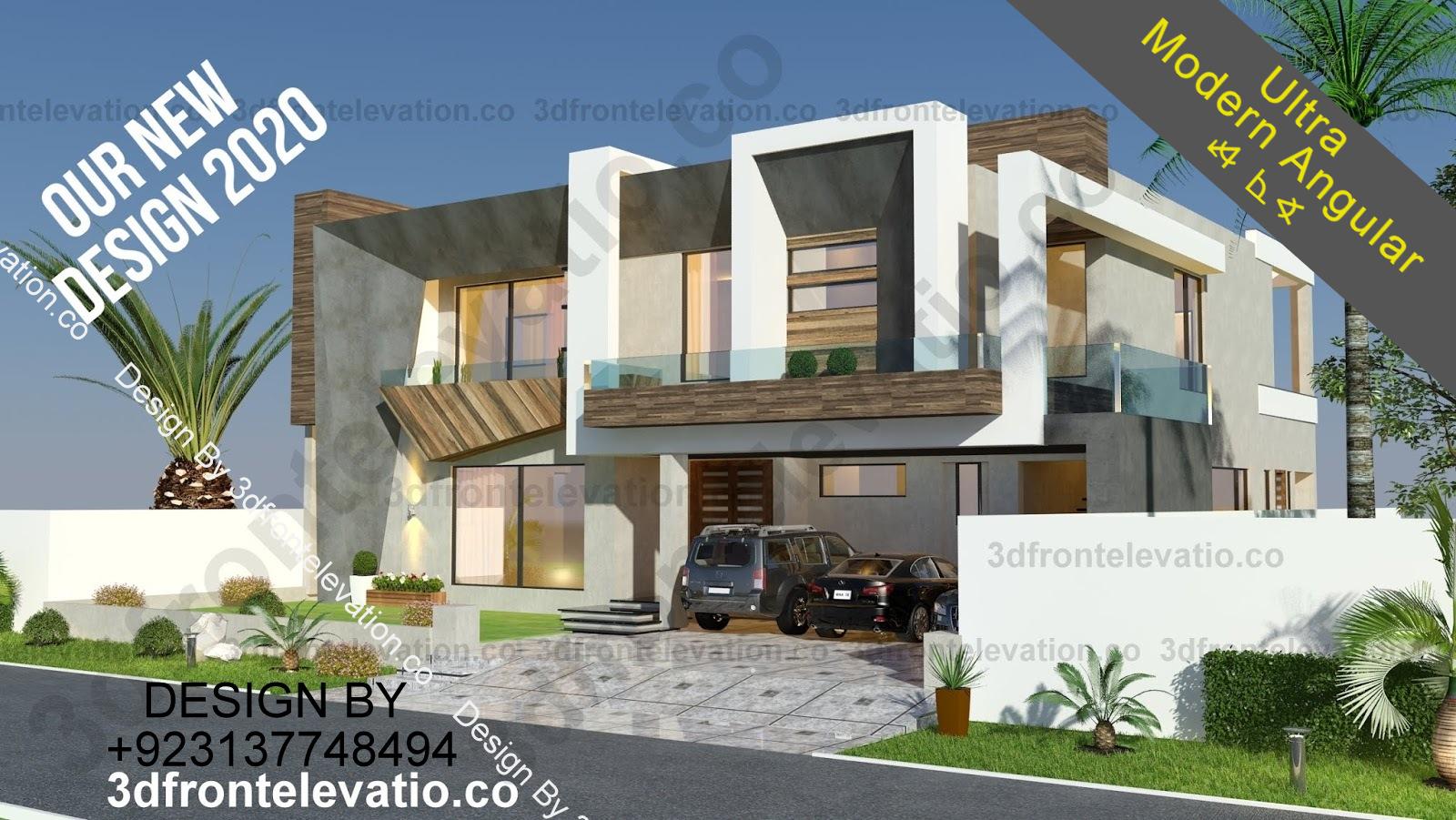 New modern house 1 kanal