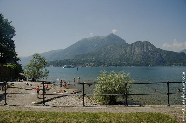 Bañarse Lago di Como Bellagio Italia
