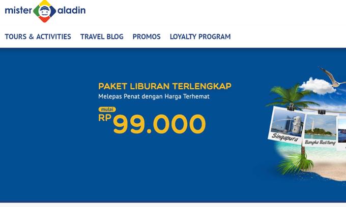 Mister Aladin Prediksi Kenaikan Pemesanan Hotel Naik Hingga 40% di Kuartal I/2018