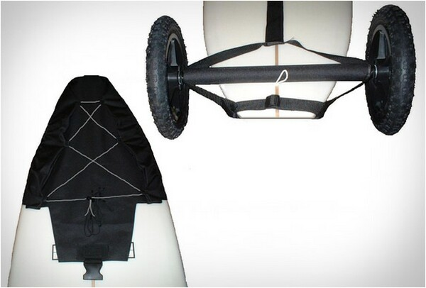 Mule surfboard trailer