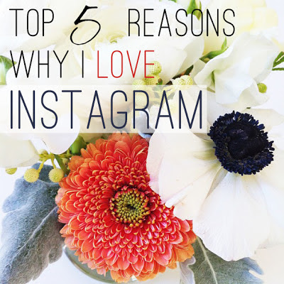 top five reasons why i love instagram
