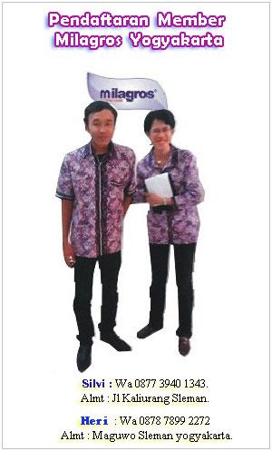 Tempat Pendaftaran Member Milagros Yogyakarta