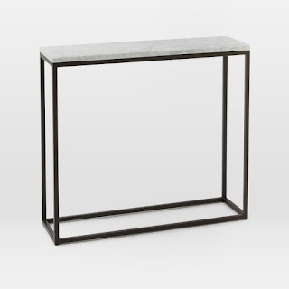 Metal Frame Entry Table