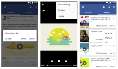 Daftar Aplikasi Untuk Download Video Di Facebook Dengan Mudah Dan Cepat
