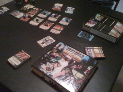 Sentinels of the Mutliverse game in play