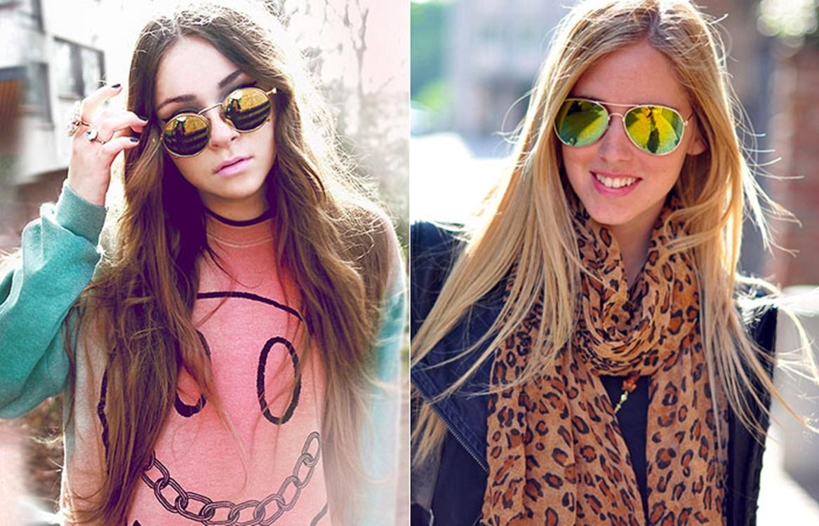 47f90bb3832ce Óculos Espelhados - Mania Adolescente