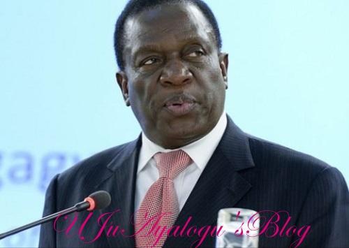 How I Trekked 30km, Escaped to SA After Mugabe Sacked Me - Zimbabwean President a.k.a The Crocodile