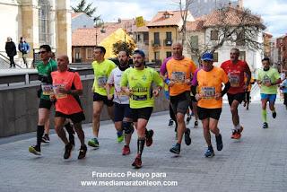 1 Semana para la Media Maraton de Leon