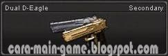 Senjata Point Blank Dual D-Eagle