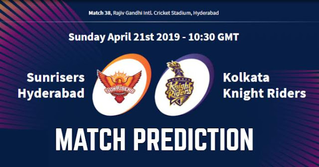 VIVO IPL 2019 Match 38 SRH vs KKR Match Prediction, Probable Playing XI: Who Will Win?