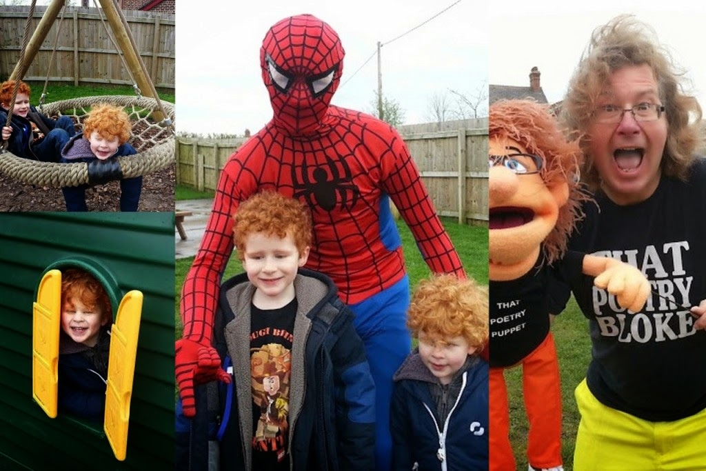 Spiderman That Poetry Bloke Little Fun Fest